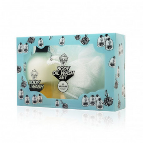 VILLAGE 11 Factory Relax-day Body Oil Wash Set
