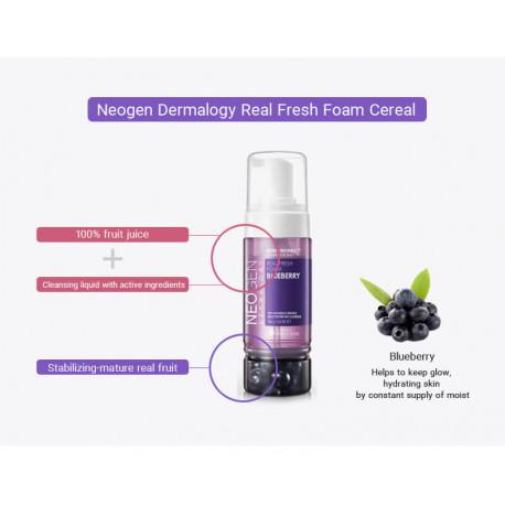 Neogen Dermalogy Real Fresh Foam Cleanser Blueberry