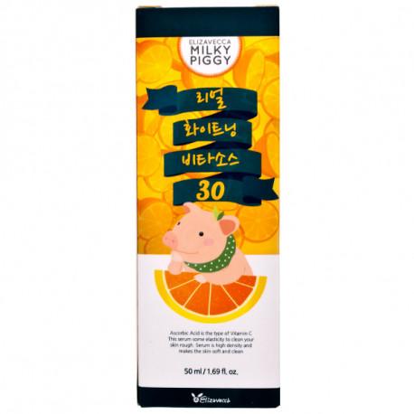 Elizavecca, Омолаживающая сыворотка с витамином Real White Vita Source 30%