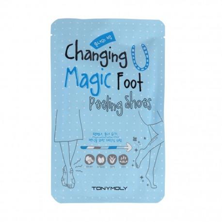 Пилинг носочки Tony Moly Changing U Magic Foot Peeling Shoes