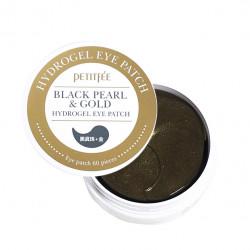 Патчи для глаз Black Pearl & Gold Hydrogel Eye Patch