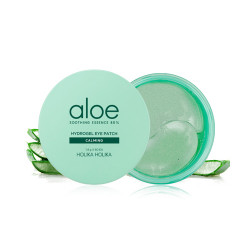 Holika Holika Aloe Soothing Essence 80% Hydrogel Eye Patch Calming