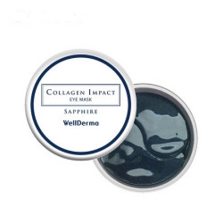 WELLDERMA COLLAGEN IMPACT SAPPHIRE EYE MASK