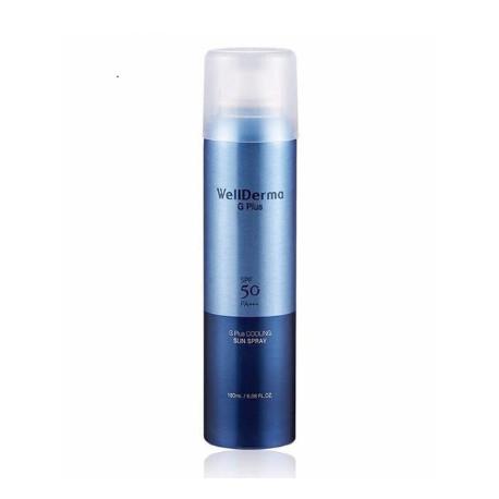WellDerma G Plus Cooling Sun Spray SPF 50 PA+++