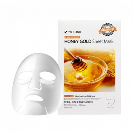 Бюджетные корейские тканевые маски 3W Clinic Essential Up Sheet Mask