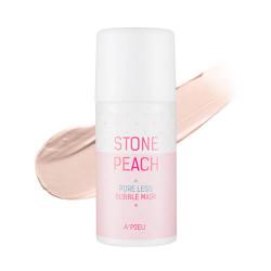 A'Pieu Stone Peach Pore Less Bubble Mask