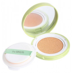 The Saem Jeju Fresh Aloe Cooling Cushion Natural Beige SPF50