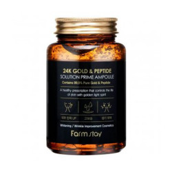 FARMSTAY 24K Gold & Peptide Solution Prime Ampoule