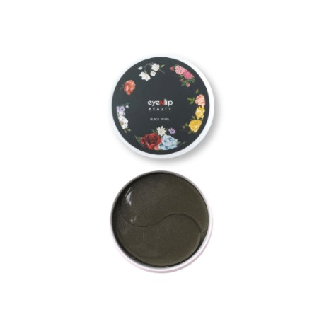 Гидрогелевые патчи с пудрой чёрного жемчуга Eyenlip Black Pearl Hydrogel Eye Patch