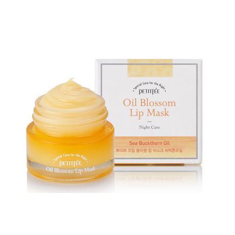 PETITFEE Oil Blossom Lip mask Camellia seed oil