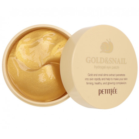 Petitfee Hydro Gel Eye Patch Gold And Snail
