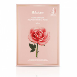 JM Solution Glow Luminous Flower Firming Mask Rose