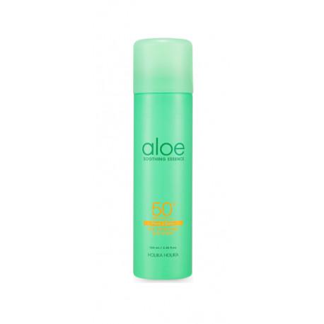 HOLIKA HOLIKA Aloe Soothing Essence Face&Body Ice Cooling Sun Spray SPF 50+ PA ++++