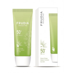 Frudia Green Grape Sebum Control Cooling Sun Gel SPF50+ PA++++