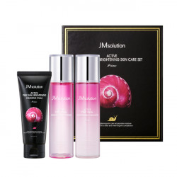 JM solution Active Pink Snail Brightening Skin Care Set-Prime