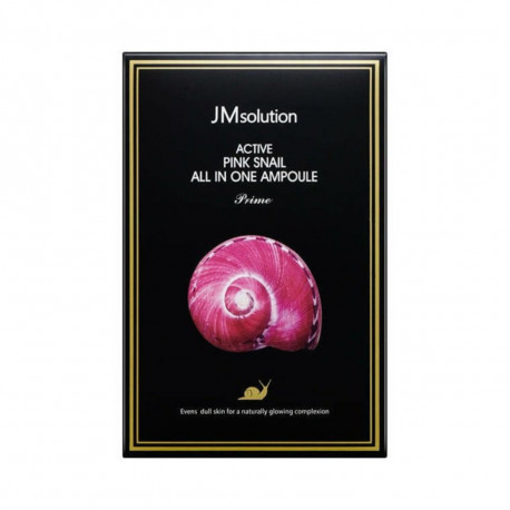 JM Solution Active Pink Snail All In One Ampoule Prime