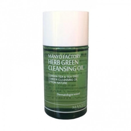 MANYO FACTORY HERB GREEN CLEANSING OIL Миниатюра 25 ml