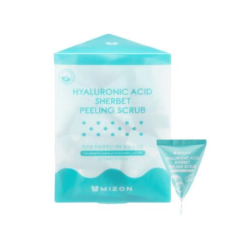 Mizon Hyaluronic Sherbet Peeling Scrub