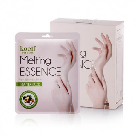 Маска-перчатки для рук с маслами и экстрактами Petitfee Koelf Melting Essence Hand Pack