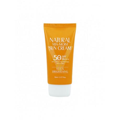 3w Clinic Natural Vita Moist Sun Cream SPF50+ PA+++