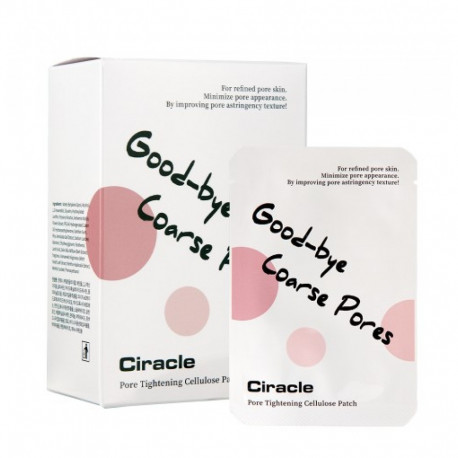 CIRACLE GOOD-BYE COARSE PORES CELLULOSE PATCH