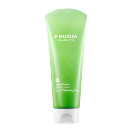 Frudia Green Grape Pore Control Scrub Cleansing Foam