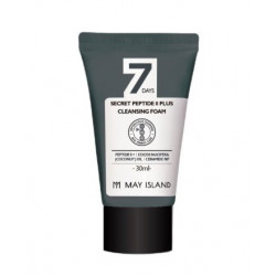 May Island 7Days Secret Peptide 8 Plus Cleansing Foam Miniature