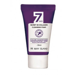 May Island 7Days Secret 4D Collagen Cleansing Foam Miniature
