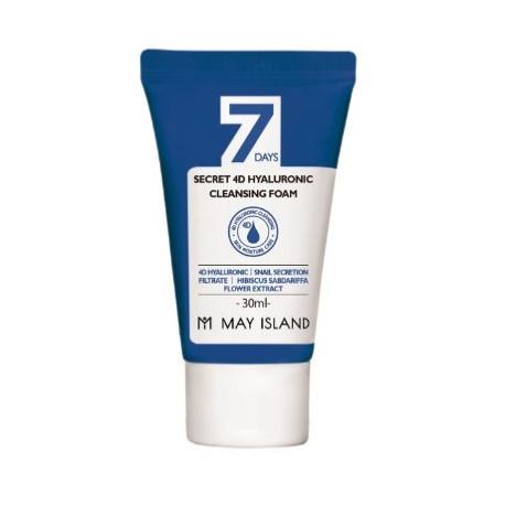 May Island 7Days Secret 4D Hyaluronic Cleansing Foam Miniature