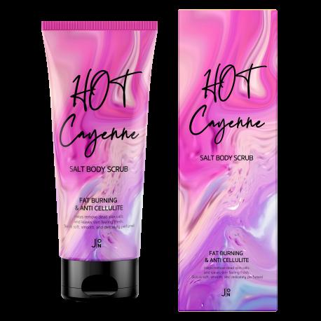 J:ON Hot Cayenne Salt Body Scrub