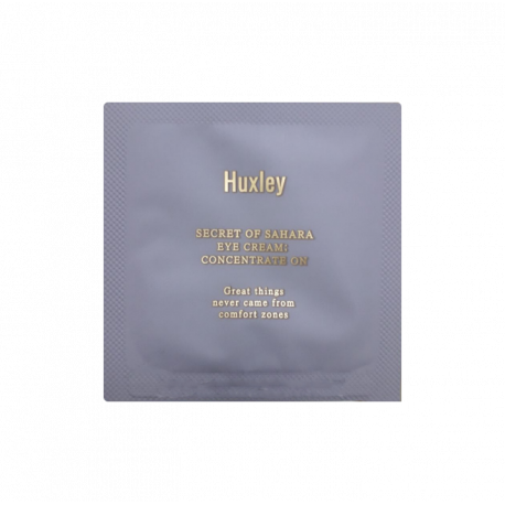 Пробник Huxley Secret of Sahara Eye Cream: Concentrate On