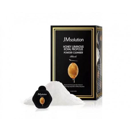 JM Solution Honey Luminous Royal Propolis Powder Cleanser