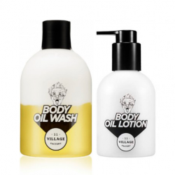 VILLAGE 11 FACTORY RELAX DAY BODY OIL SET