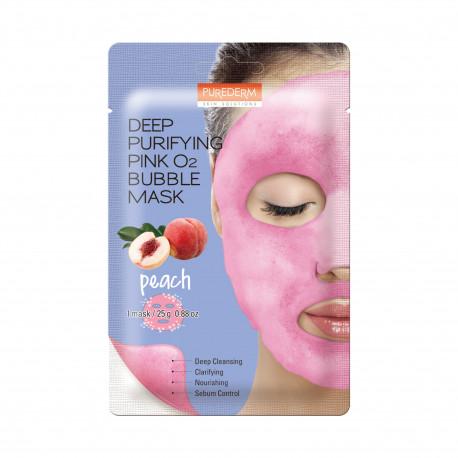 3W Deep Purifying Black 02 Bubble Mask