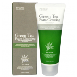 3W CLINIC Green Tea Cleansing Foam