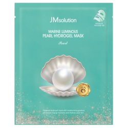 JM Solution Marine Luminous Pearl Hydrogel Mask Pearl