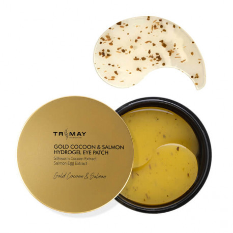 Trimay Gold Cocoon & Salmon Hydrogel Eye Patch