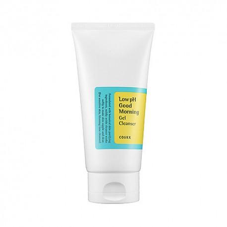 COSRX, Слабокислотный гель для очищения кожи Low pH Good Morning Gel Cleanser