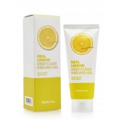 FarmStay Real Lemon Deep Clear Peeling Gel