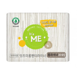 It's Me Organic Cotton Sanitary Pads-Long Panty Liner 20P