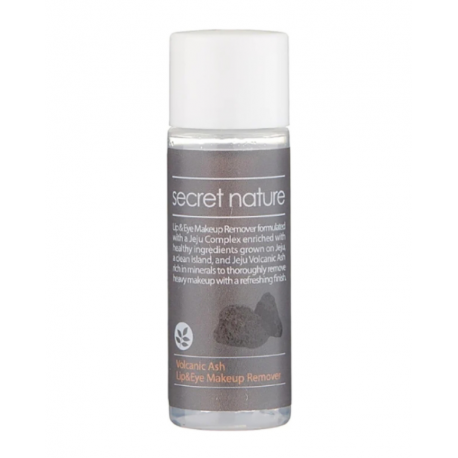 Secret Nature Volcanic Ash Lip And Eye Makeup Remover 30 ml