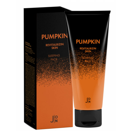 J:ON Pumpkin Revitalizing Skin Sleeping Pack