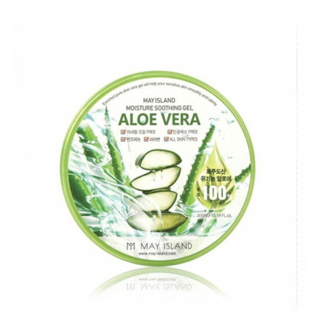 May Island - Aloe vera purity 100% soothing gel 300 ml