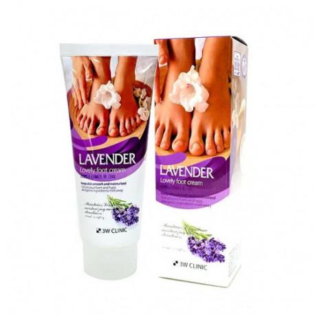 3W Clinic Enrich Lovely Foot Cream
