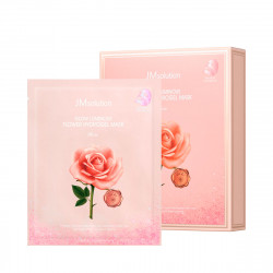 JM Solution Glow Luminous Flower Hydrogel Mask Rose