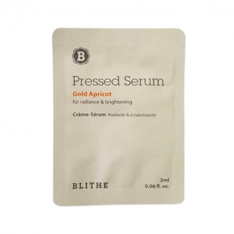BLITHE Pressed Serum Gold Apricot пробник