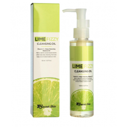 SECRET SKIN Lime Fizzy Cleansing Oil