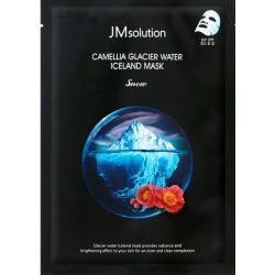 JMsolution Camellia Glacier Water Iceland Mask