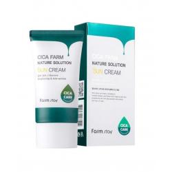 FarmStay Cica Farm Nature Solution Sun Cream Spf50+ / Pa++++
