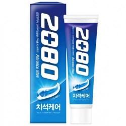 Отбеливающая зубная паста с гранулами 2080 Advance Blue Toothpaste Scrub Essence